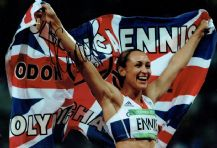 Jessica Ennis Autograph Photo - Heptathlon